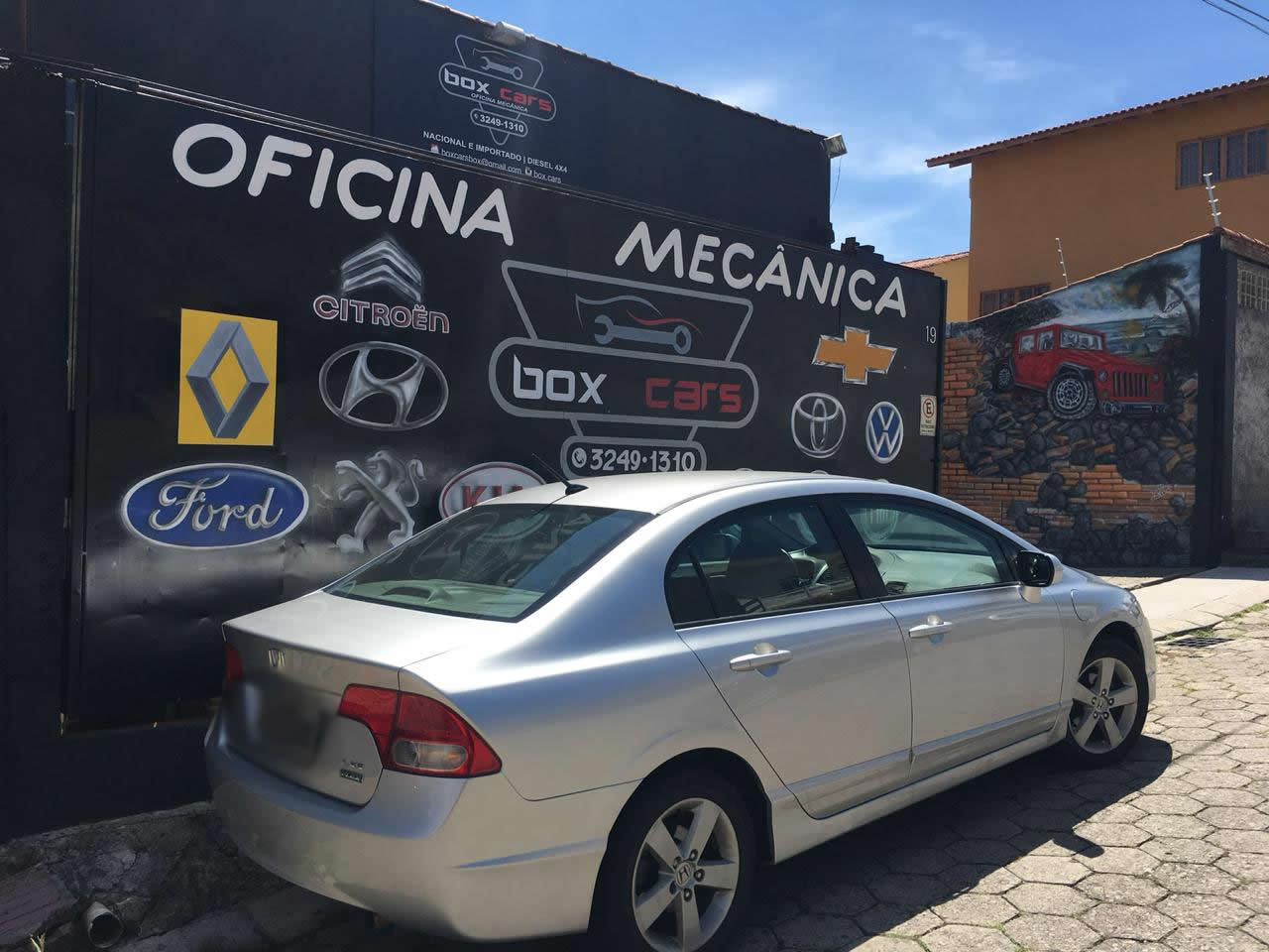 Box Cars - Oficina Mecânica no bairro Barreiros em São José